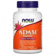 Витамины для мужчин Адам, Adam Men's Multi, Now Foods, 90 капсул
