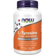L-Tyrosine, Now Foods, 750 мг, 90 капсул
