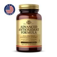 Антиоксидантная формула, Advanced Antioxidant Formula, Solgar - 60 капс