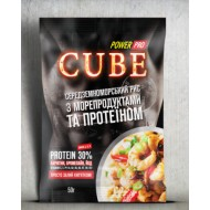 Каша CUBE рис с морепродуктами и протеином 30%, (50 грамм)